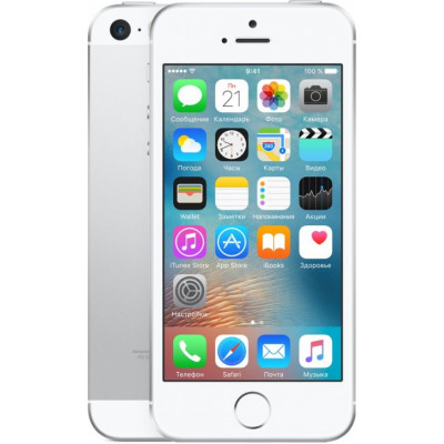 Apple iPhone SE 32Gb Silver (Серебристый)