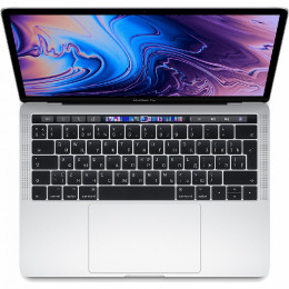 "Ноутбук Apple MacBook Pro 13"" Touch Bar (2019)  (MV992LL) Silver, Touch ID, Intel Core i5 2.4 ГГц, 8 Гб, SSD 256 Гб, Intel Iris Plus Graphics 655"