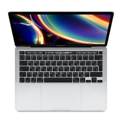 "Ноутбук Apple MacBook Pro 13"" Touch Bar (2020) (MXK72LL) Silver, Touch ID, Intel Core i5 1.4 ГГц, 8 Гб, SSD 512 Гб, Intel Iris Plus Graphics 645"