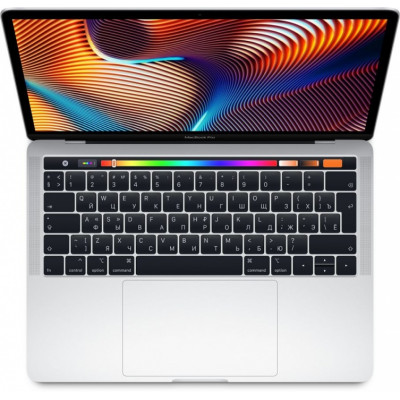 Ноутбук Apple MacBook Pro 13 с дисплеем Retina и Touch Bar Silver (MR9U2LL/A) (Intel Core i5 2300 MHz/13.3/8GB/256GB SSD/Intel Iris Plus Graphics 655/Серебристый)